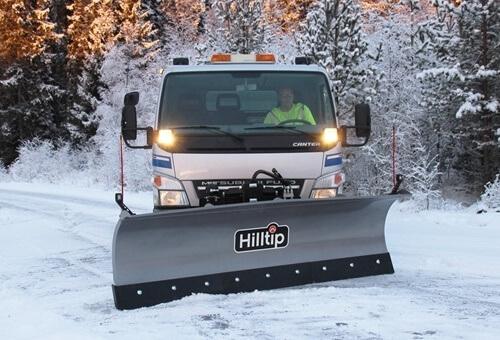 Truck-snowplow